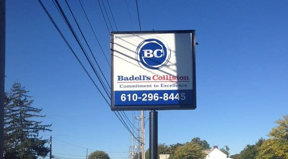 Badell's Collision Sign
